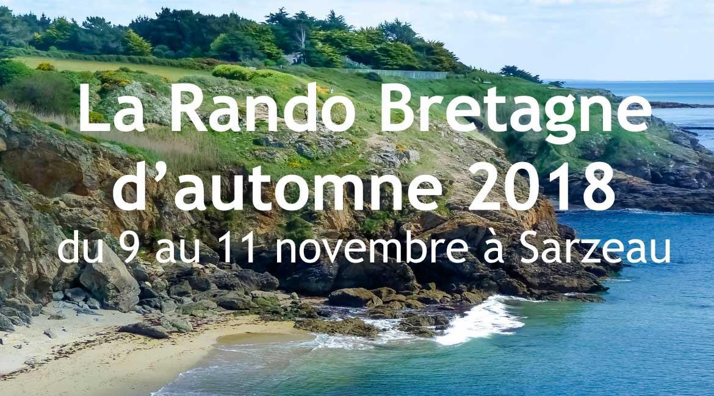 BRETAGNE : La Rando Bretagne d'automne 2018
