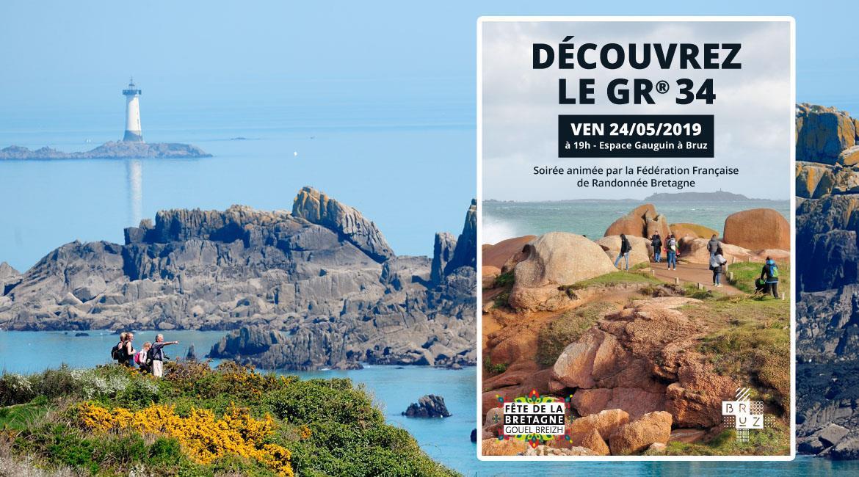 Découvrez le GR®34 : conférence le 24 mai dans le cadre de la Fête de la Bretagne