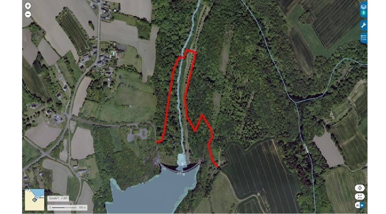 Actu sentiers Côtes-d'Armor : Fermeture temporaire du couronnement du barrage de St Barthélémy pour cause de travaux