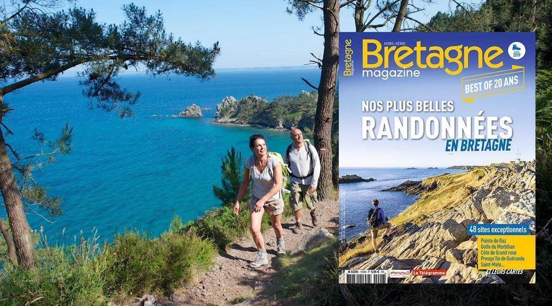 MEDIA : les plus belles randonnées dans Bretagne Magazine Randos