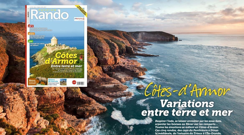 MEDIA : Les Côtes d'Armor, destination estivale de Passion Rando N°44