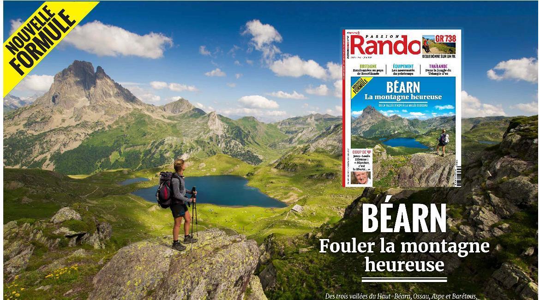 MEDIA : Le magazine Passion rando fait peau neuve