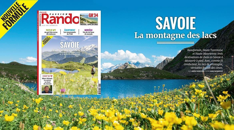 MEDIA : La Savoie, destination estivale de Passion Rando