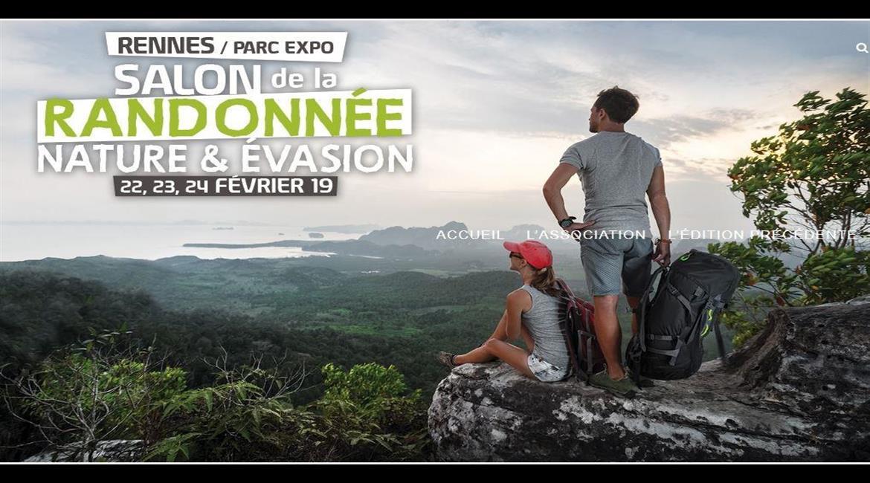 RENNES :  Salon Randonnée, Nature & Evasion, 8ème éd.