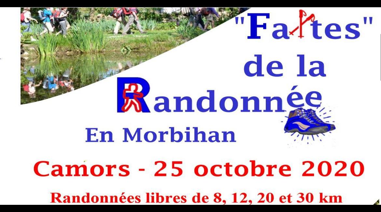 """Faites de la Randonnée en Morbihan""  à Camors"